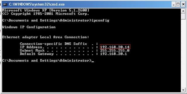 Cara Cek IP Address Windows