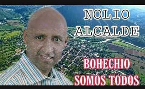 Alcalde de Bohechío responde ataques por las redes sociales
