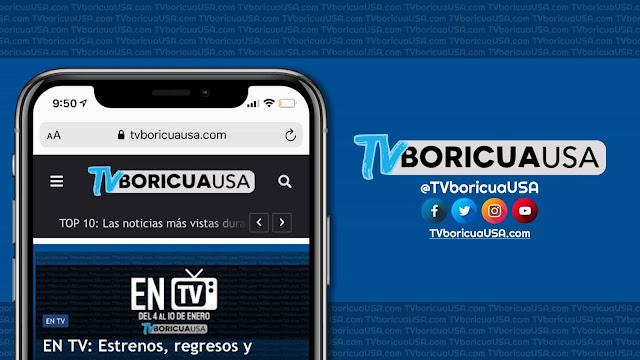 Web sobre televisión puertorriqueña