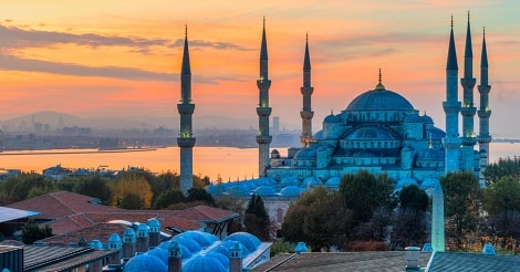 Fakta Menarik Masjid Biru di Turki