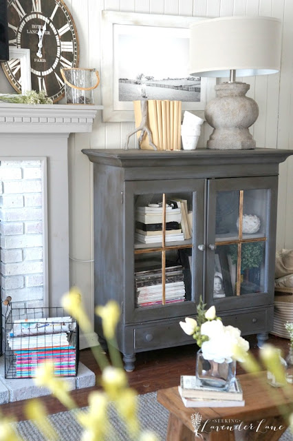 decorating with grays and white