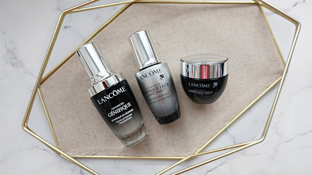 lancome antiaging collection, lancome advanced genefique collection, lancome advanced genifique, lancome antiaging eyecream, lancome antiaging