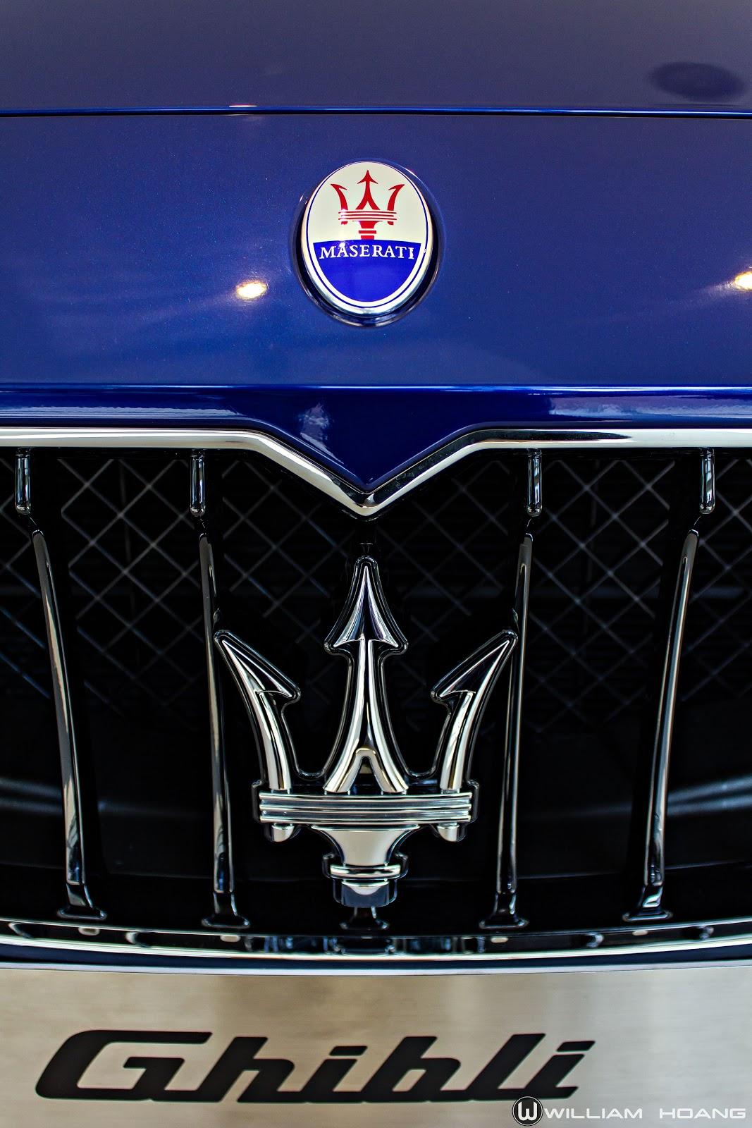 Hào nhoáng như Maserati Ghibli xanh đại dương tại Sài Gòn