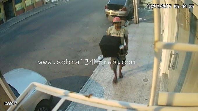 SOBRAL: Polícia Militar captura indivíduo acusado de furto
