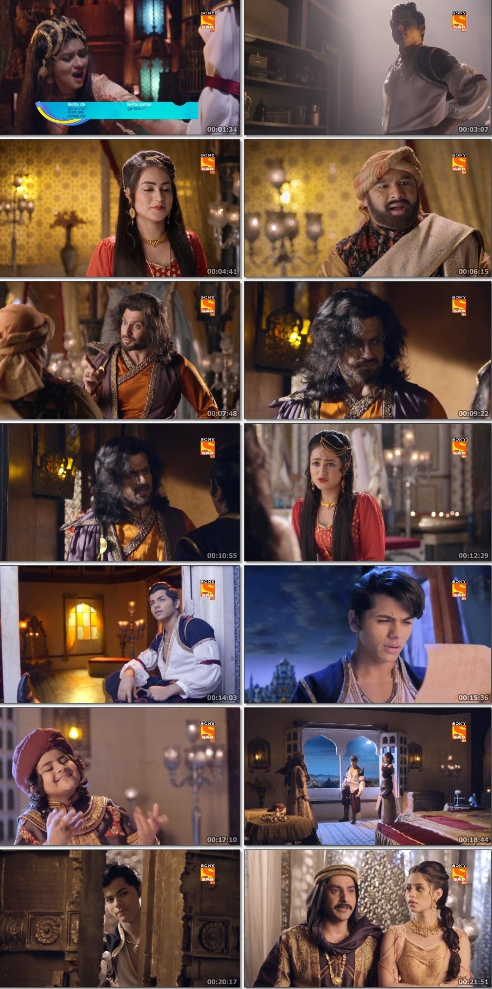 Screenshots Of Hindi Show Aladdin – Naam Toh Suna Hoga 2019 Episode 249 300MB 720P HD