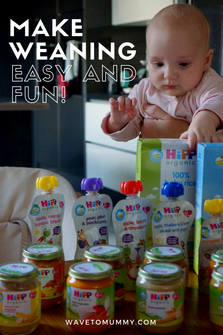 Top tips on how to make weaning simple, easy and fun, from a busy mum of two. Includes ideas for first foods.