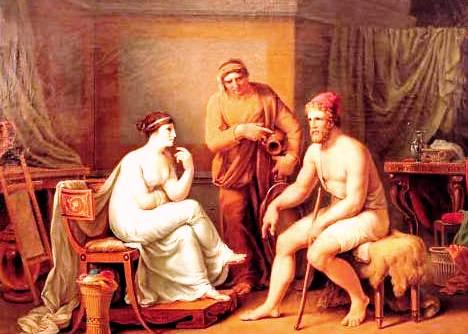 eumaeus and odysseus relationship with calypso