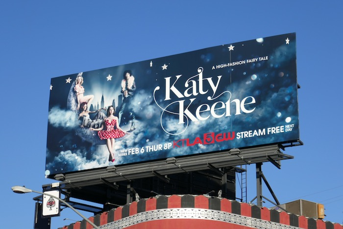 Katy Keene series premiere billboard