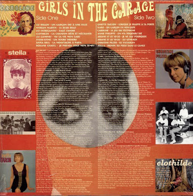 Girls In The Garage Volume 10 - Groovy Gallic Gals!