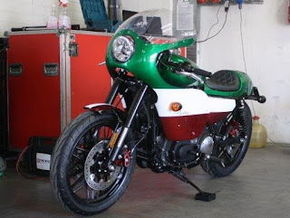old italy sportster racing 1200 roadster by hd treviso front left