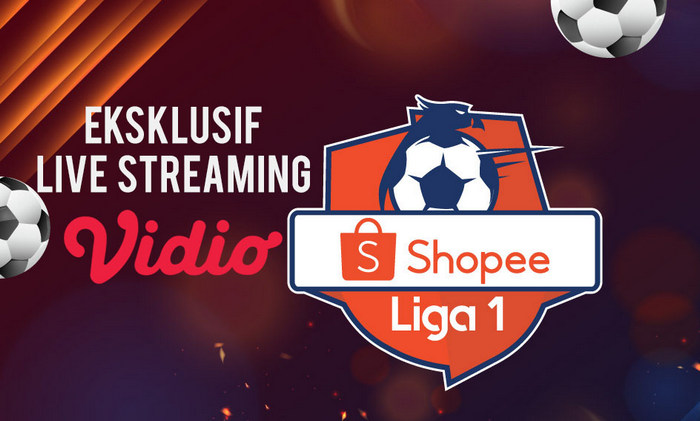 Live Streaming Shopee Liga 1 2020 di Vidio