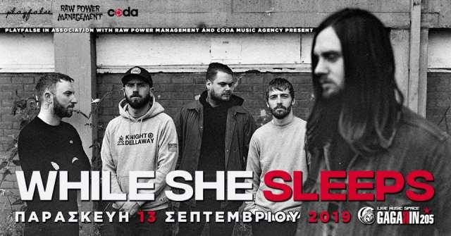 WHILE SHE SLEEPS: Τον Σεπτέμβριο σε Αθήνα και Θεσσαλονίκη