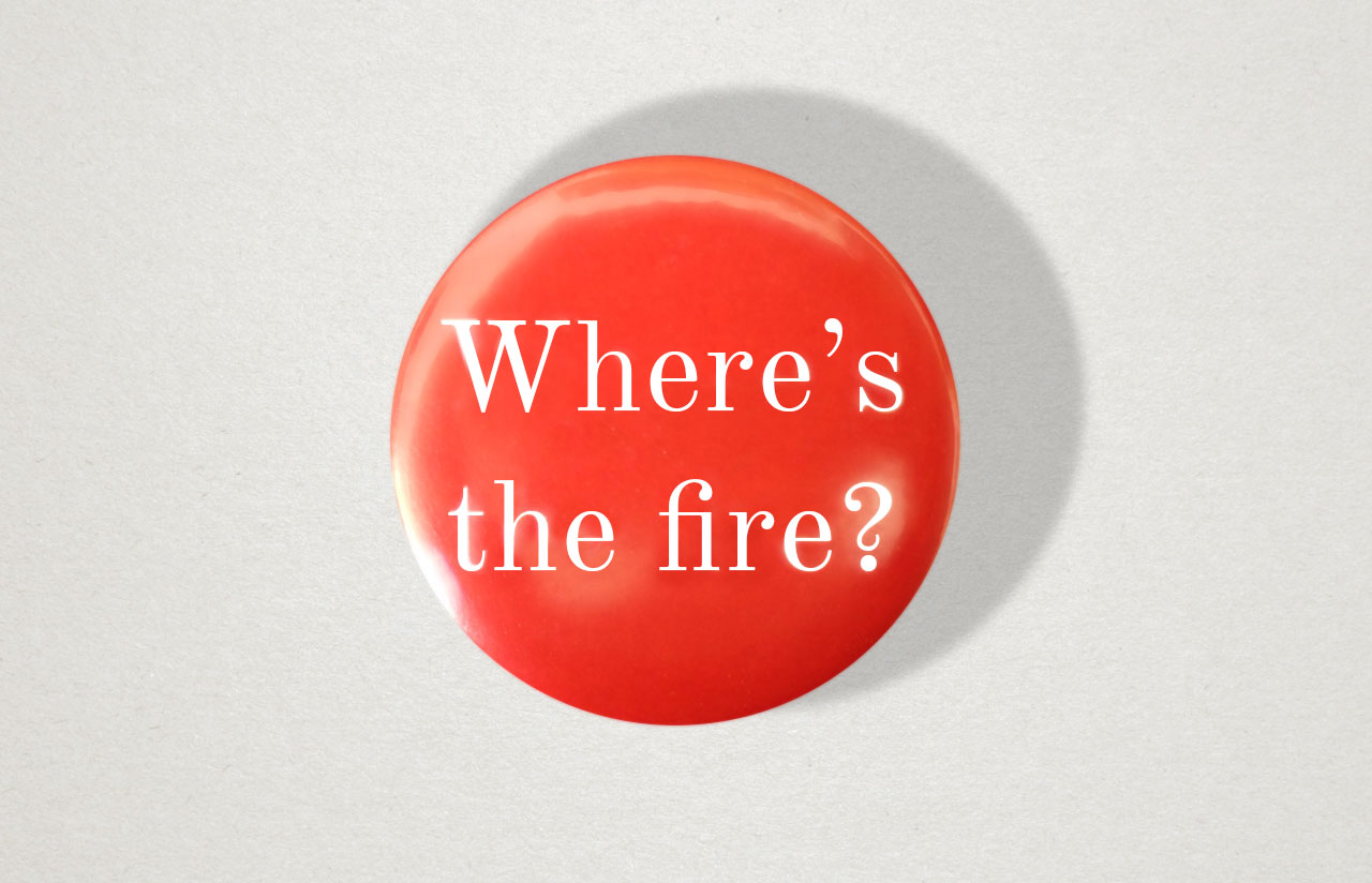 Where's The Fire? © Graeme Walker 2020
