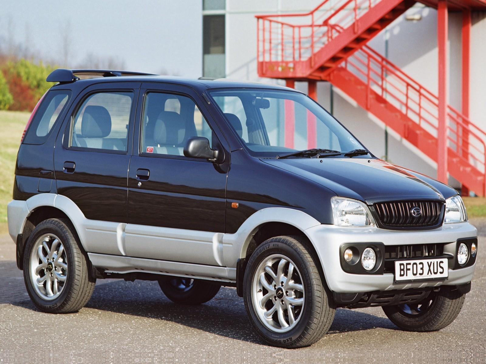 Car And Car Zone: Daihatsu Terios Sport 2003 New Cars, Car