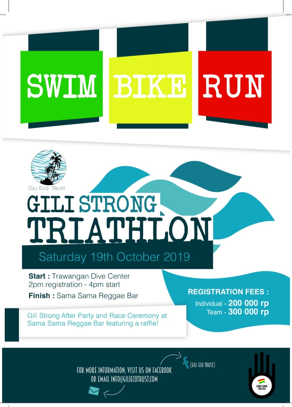 Gili Strong Triathlon • 2019