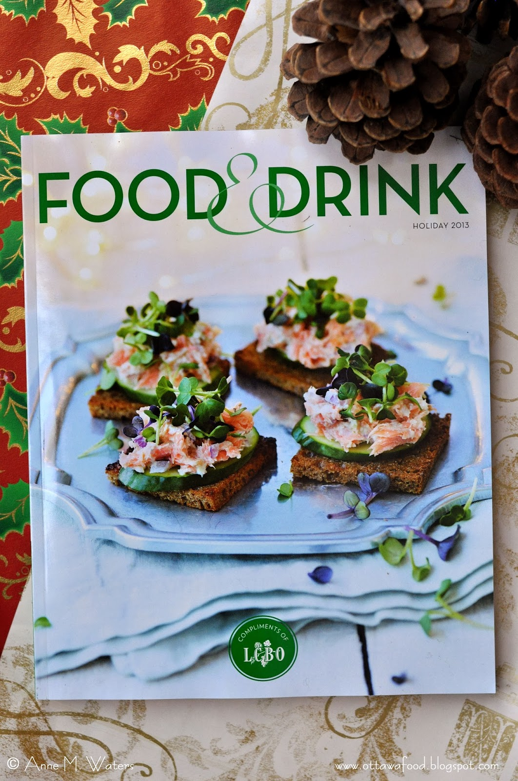 food holiday drink lcbo magazine issue christmas music