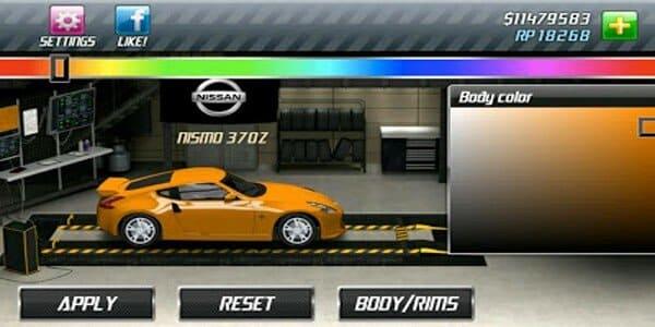تنزيل لعبة drag racing مهكره