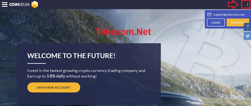 [SCAM] Review CoinReum - Lãi từ 3.2% hằng ngày - Đầu tư tối thiểu 20$ - Thanh toán Manual