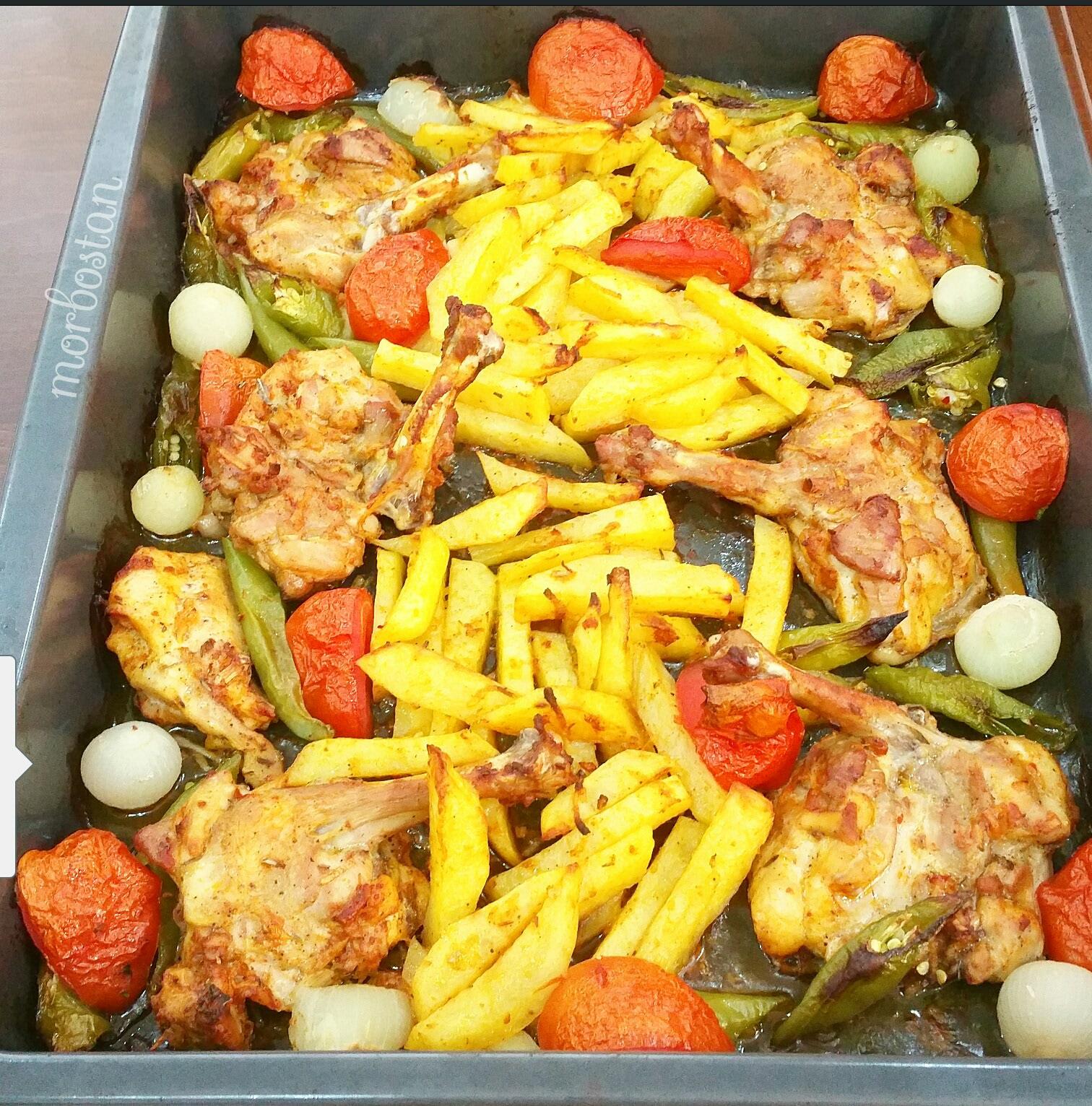Domatesli Pirzola (fırında) Tarifi