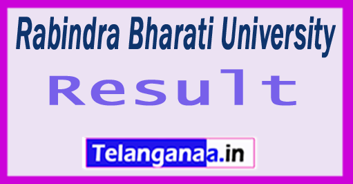 Rabindra Bharati University Results 2018
