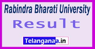 Rabindra Bharati University Results 2017