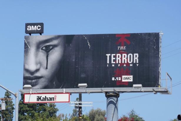 Terror Infamy billboard
