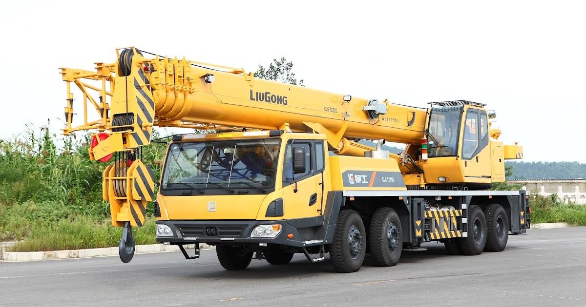 Sales Liugong Mobile Crane Pt Triguna Karya Nusa