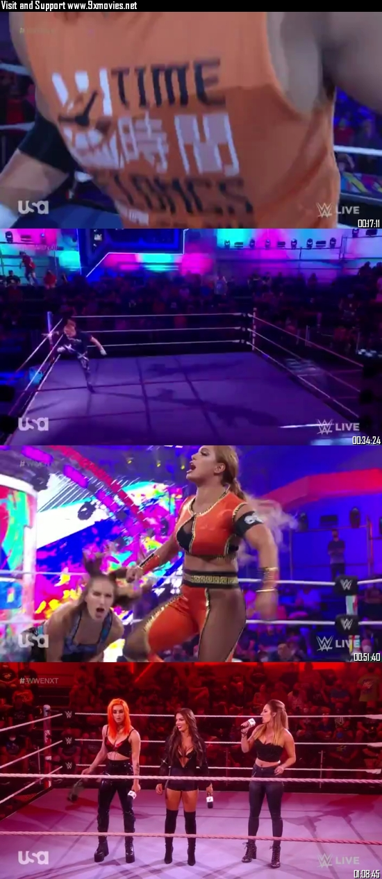 WWE NXT 21 September 2021 WEBRip 480p 350MB