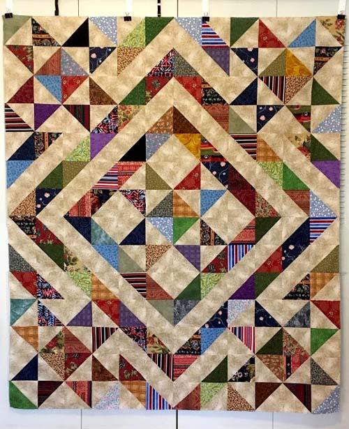 Stars Over Scott - Free Quilt Pattern