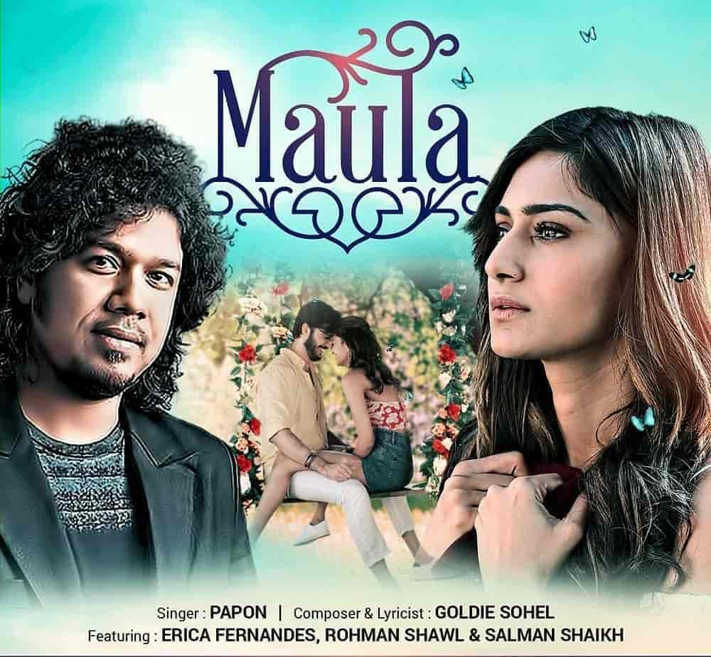 Maula Hindi Song Image Features Erica Fernandes Sung By Papon