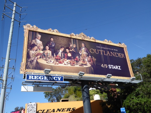 Outlander season 2 billboard