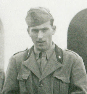 Magni pictured in his army uniform in 1943