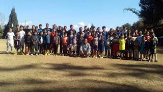 Winter Football Coaching Camp Shardha Ground Mungpoo