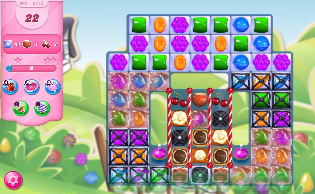Candy Crush Saga level 6118