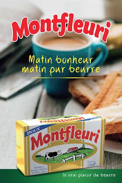 Publcité beurre Montfleuri Madagascar