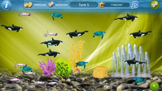 Tap Fish Android app