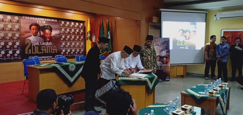 """Tebuireng x Muhammadiyah Kerjasama Bikin Film """"Jejak Langkah 2 Ulama"""", Tak Tayang di XXI"""