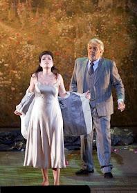 Verdi: La Traviata - Marina Rebeka, Placido Domingo - Wiener Staatsoper (Photo Michael Pöhn)