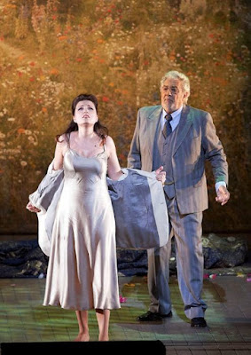 Verdi: La Traviata - Marina Rebeka, Placido Domingo - Wiener Staatsoper (Photo Michael Pöhn)