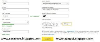 Mendaftar Akun Baru Yandex Mail