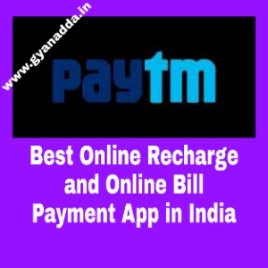 Best Online Recharge and Online Bill Payment App in India
