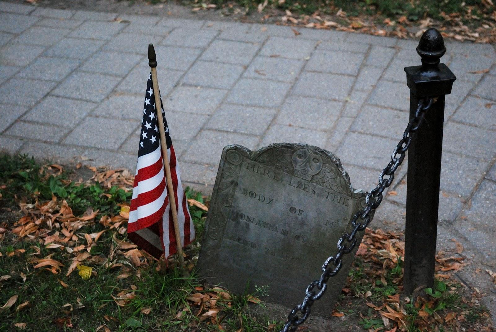 granary burying ground freedom trail map boston itinerary plan guide tourism usa america park east coast