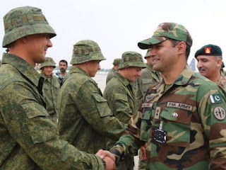 Druzhba-III: Russia and Pakistan holding military exercise