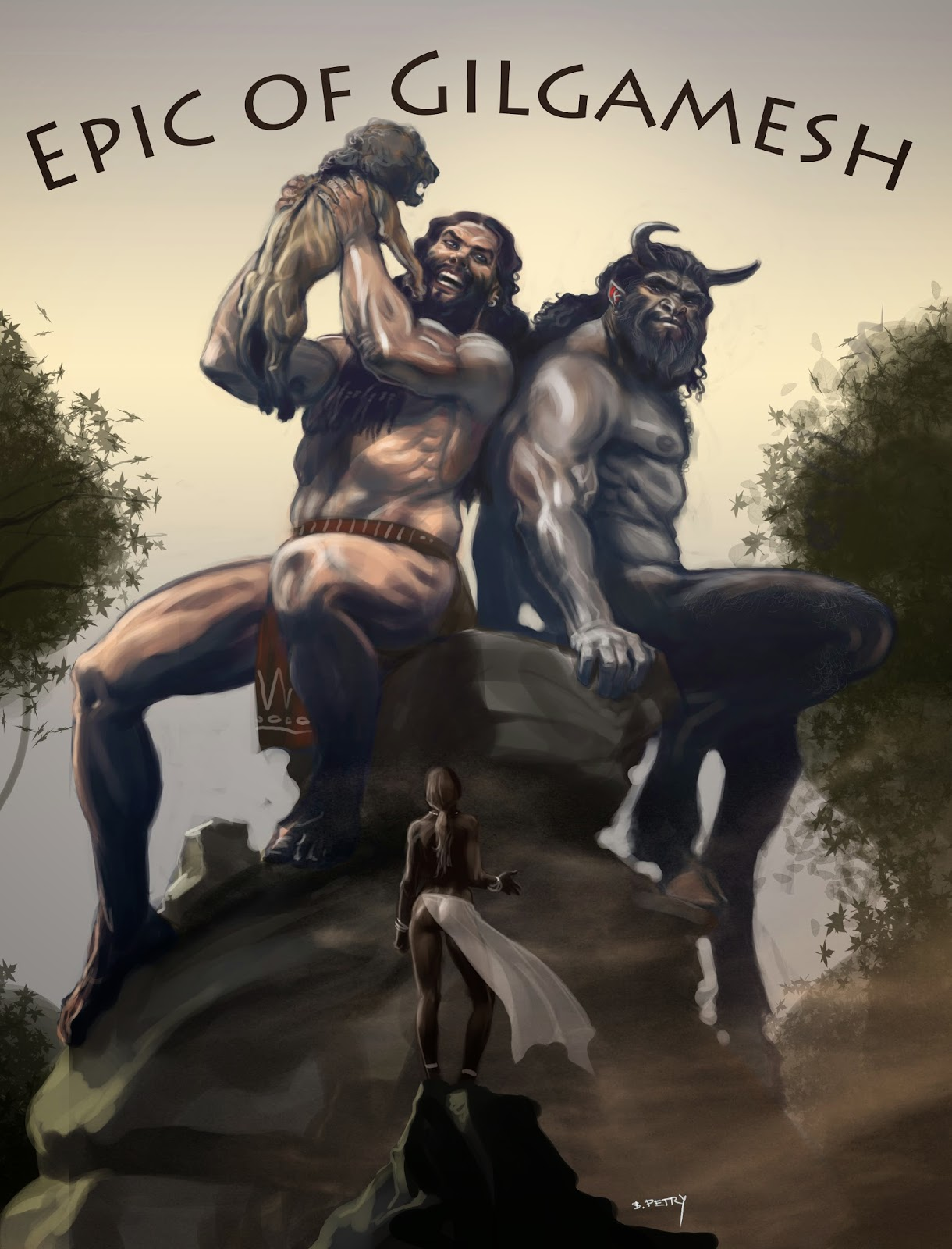 Art Of Petry Epic Of Gilgamesh Cover