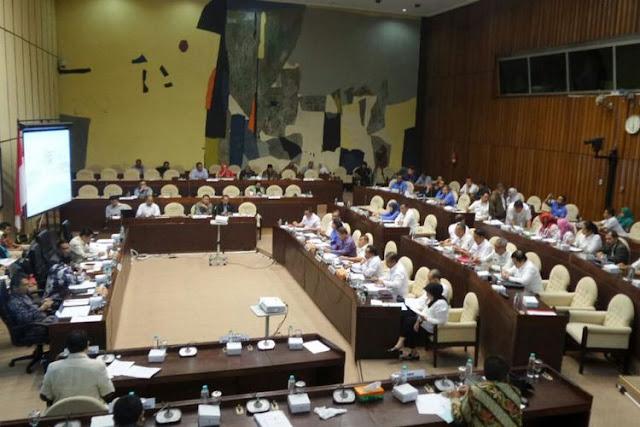 RDP dengan Komisi II DPR, Perppu Nomor 2 Tahun 2017 tentang Ormas