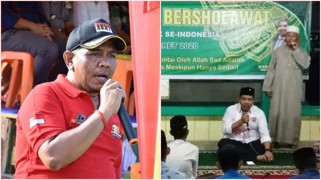 Sebelum Jadi Buron Narkoba, Anggota DPRD Bireuen dari PKB Pernah Gelar Salawatan
