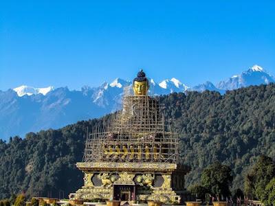 buddha park ravangla sikkim india