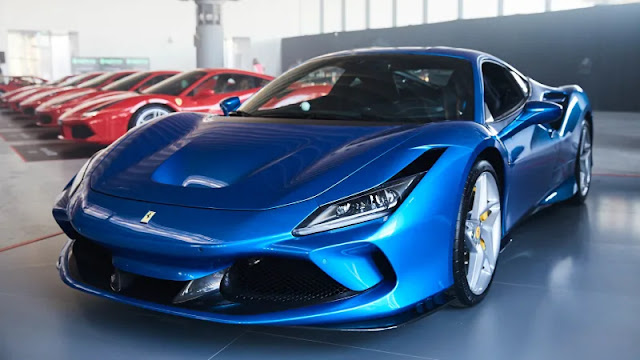 Ferrari F8 Tributo Indonesia