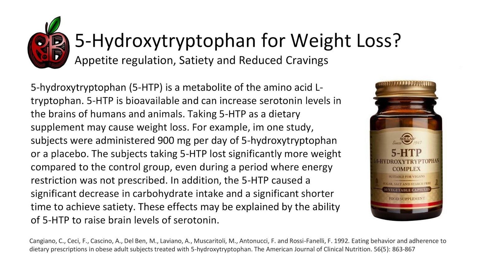 5 Htp Benefits Weight Loss
