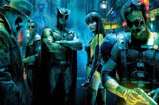 Watchmen 2009 Superhero Dan Politik